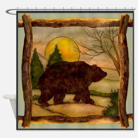 Bear Best Seller Shower Curtain