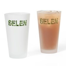 Belen, Vintage Camo, Drinking Glass