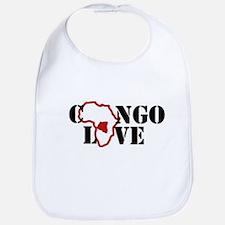 congo love Bib