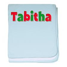 Tabitha Christmas baby blanket