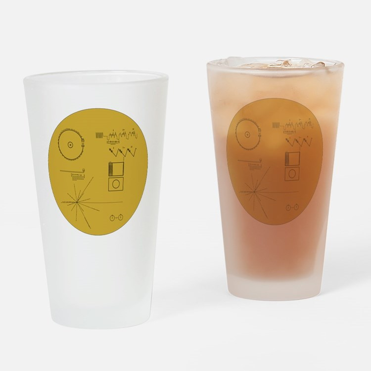 Voyager Plaque - Vger Drinking Glass