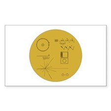 Voyager Plaque - Vger Decal