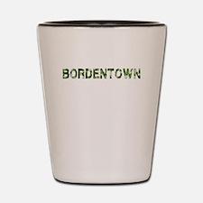 Bordentown, Vintage Camo, Shot Glass