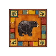 "Bear Best Seller Square Sticker 3"" x 3"""