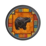 Bear Wall Clocks