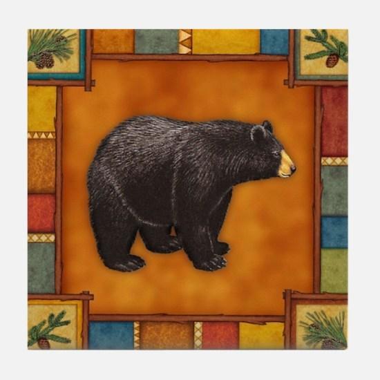 Bear Best Seller Tile Coaster