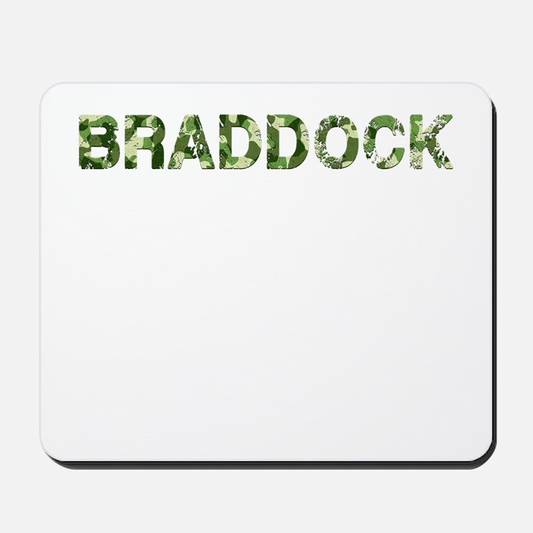 Braddock, Vintage Camo, Mousepad