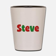 Steve Christmas Shot Glass