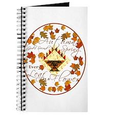 Autumn, Gods Second Spring Journal