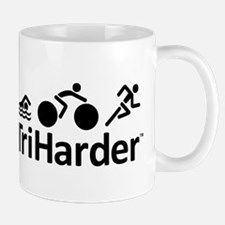 iTriHarder triathlon motto Mug
