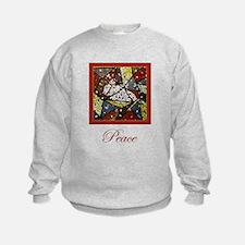 Peace Dove Christmas Sweatshirt