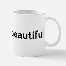 Strong is Beautiful Hashtag Mug