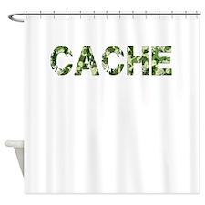 Cache, Vintage Camo, Shower Curtain