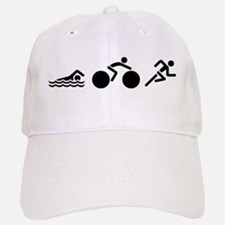 Triathlon Icons Baseball Baseball Cap