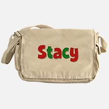 Stacy Christmas Messenger Bag
