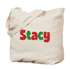 Stacy Christmas Tote Bag