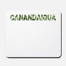 Canandaigua, Vintage Camo, Mousepad
