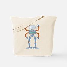 4 Armed Robot Tote Bag