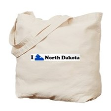 I DJ North Dakota Tote Bag