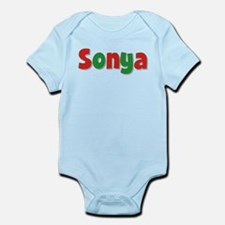 Sonya Christmas Infant Bodysuit