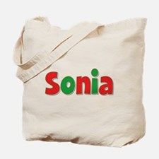 Sonia Christmas Tote Bag