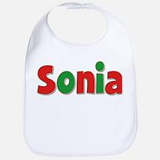 Sonia Christmas Bib