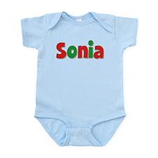 Sonia Christmas Infant Bodysuit