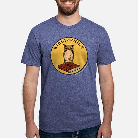 Bibliophile Mens Tri-blend T-Shirt