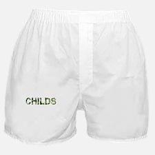 Childs, Vintage Camo, Boxer Shorts