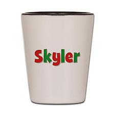 Skyler Christmas Shot Glass