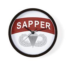 Airborne Sapper Wall Clock