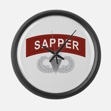 Airborne Sapper Large Wall Clock