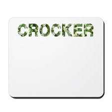 Crocker, Vintage Camo, Mousepad
