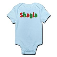 Shayla Christmas Infant Bodysuit