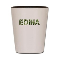 Edina, Vintage Camo, Shot Glass