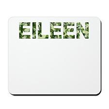 Eileen, Vintage Camo, Mousepad