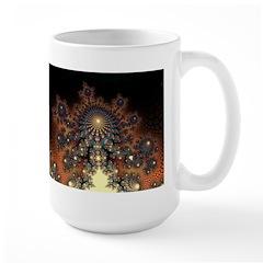 Terricotta Vision Fractal Large Mug