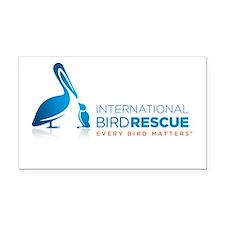 Cool Bird Rectangle Car Magnet