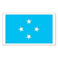 Micronesia Rectangle Decal