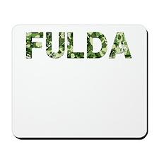Fulda, Vintage Camo, Mousepad