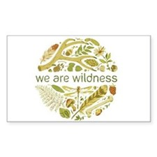 We Are Wildness Art Decal