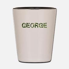 George, Vintage Camo, Shot Glass