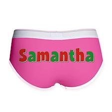 Samantha Christmas Women's Boy Brief
