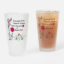 Funny Empowerment Drinking Glass