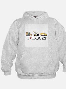 I Love Trucks Hoodie