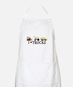I Love Trucks Apron