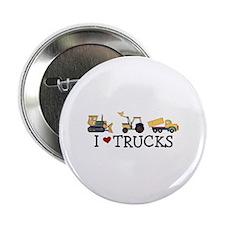 "I Love Trucks 2.25"" Button"