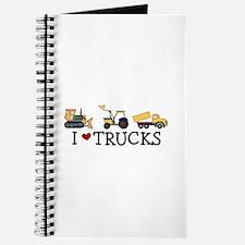 I Love Trucks Journal
