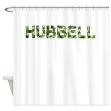 Hubbell, Vintage Camo, Shower Curtain