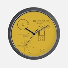 Voyager Plaque Wall Clock